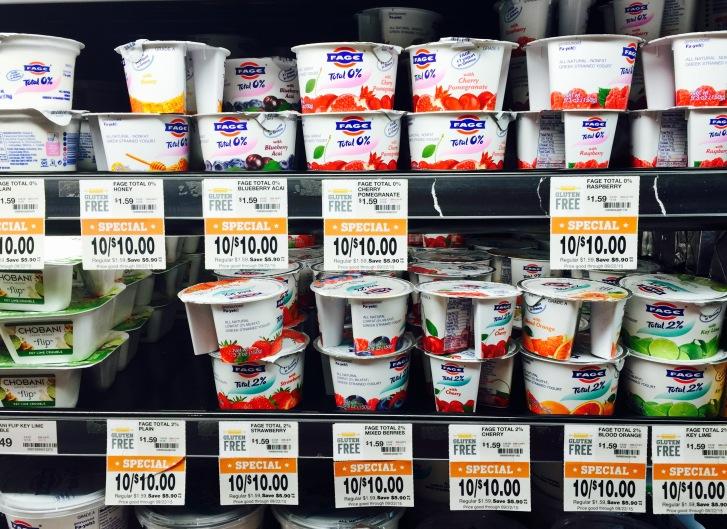 Individual Item Sales at The Fresh Market