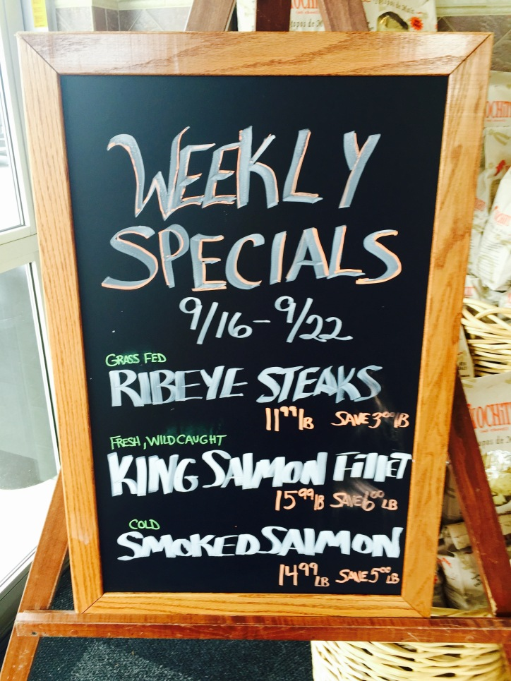 Weekly Specials at The Fresh Market
