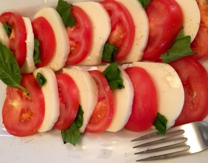 My Beautiful Caprese Salad