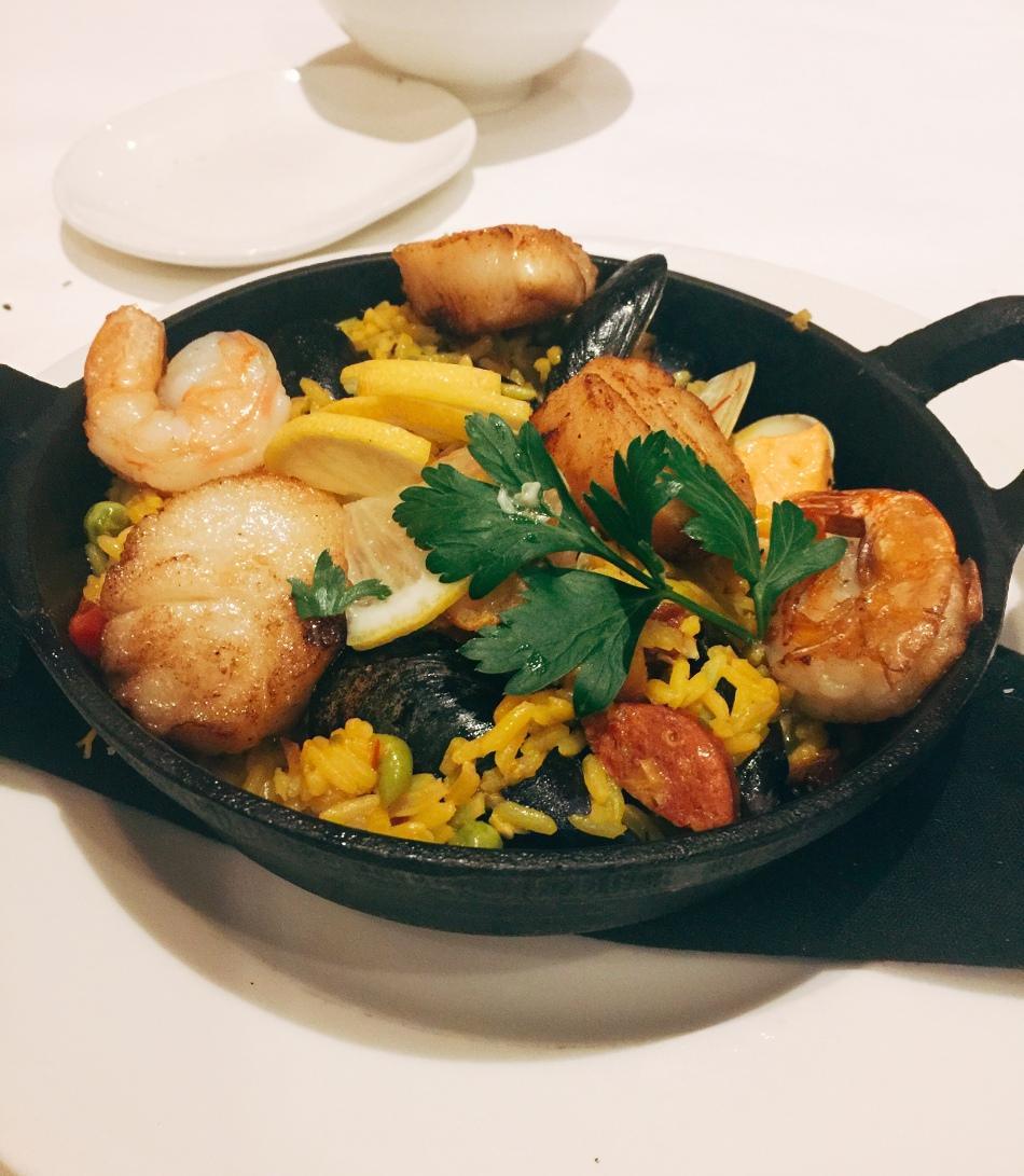 Seafood, Palomino Restaurant