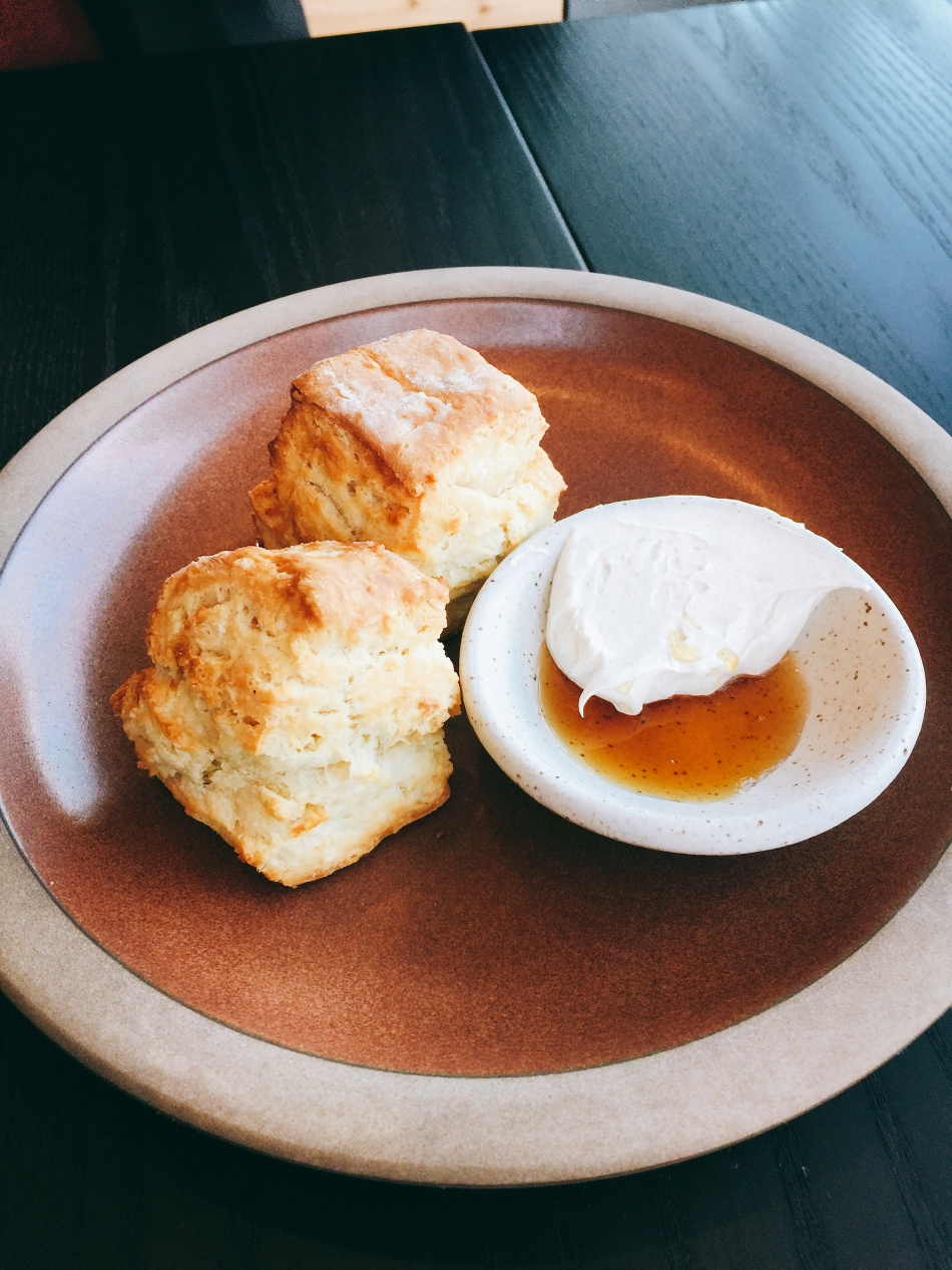 Biscuits, Crispy Bird, Indianapolis