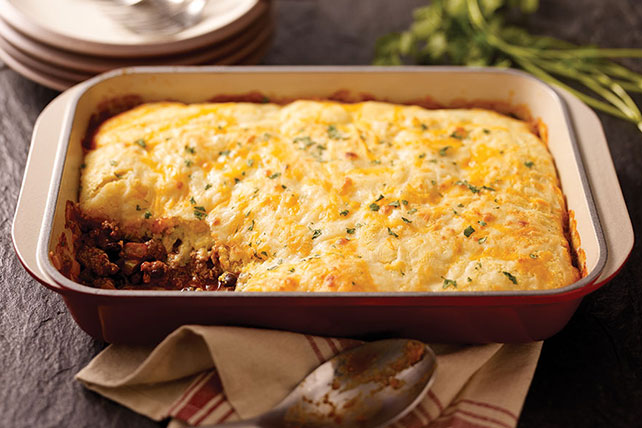 Mexican Shepherds Pie with Cornbread