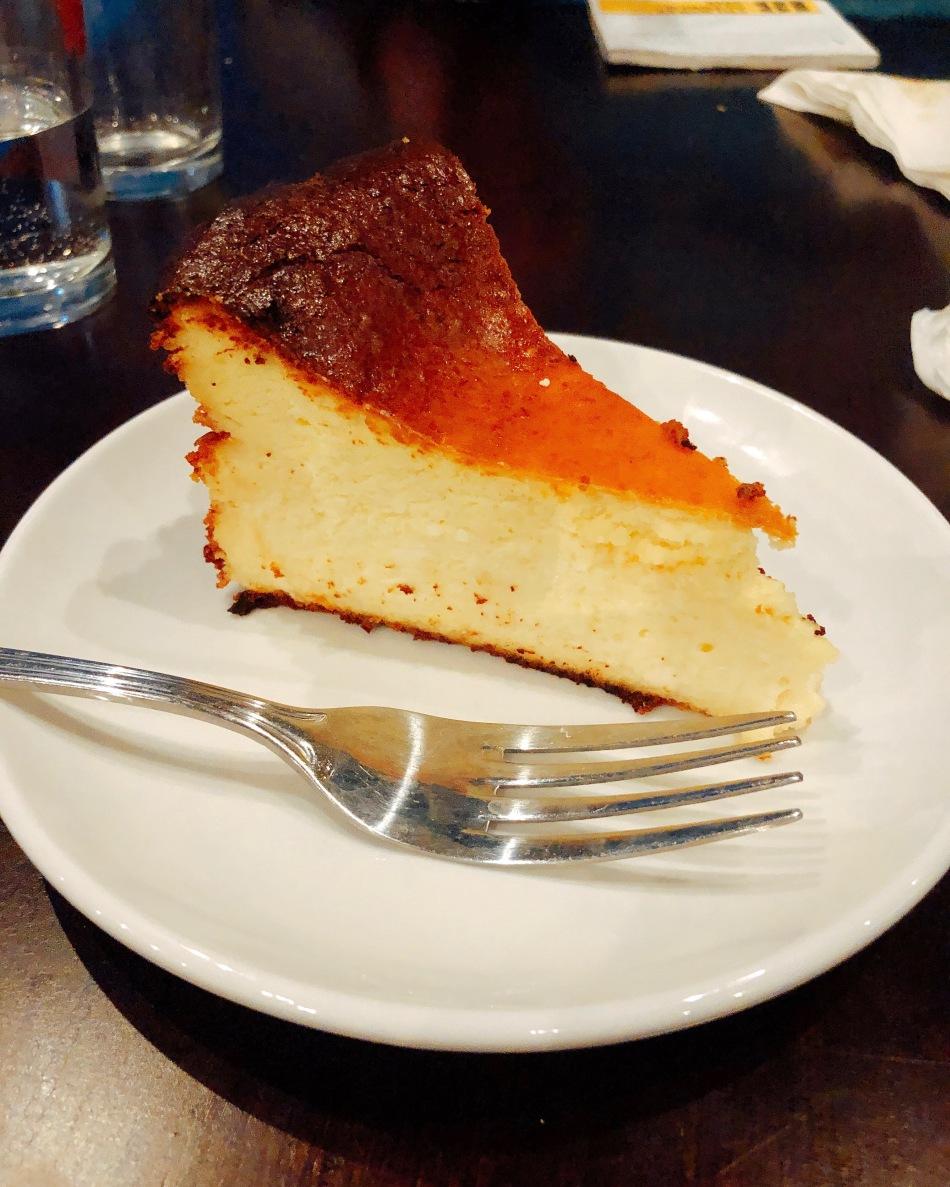 Burnt Cheesecake, Txuleta Basque Cider House