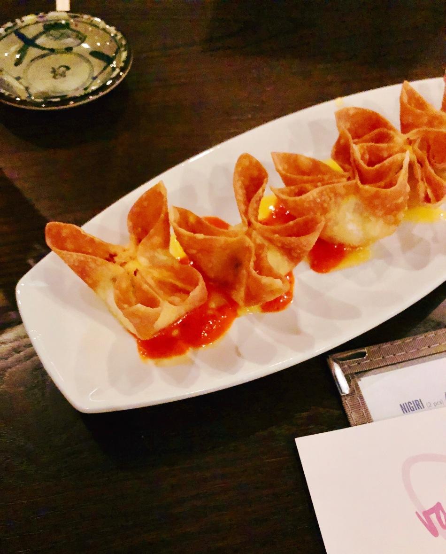 Mango Crab Rangoon, Blue Sushi Sake Grill