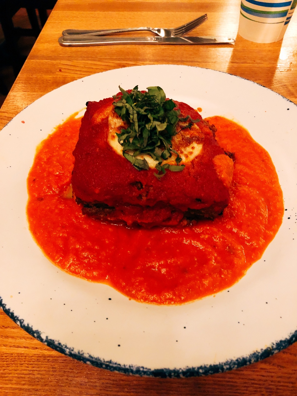 Vegetable Lasagna, Nook, Downtown Indianapolis