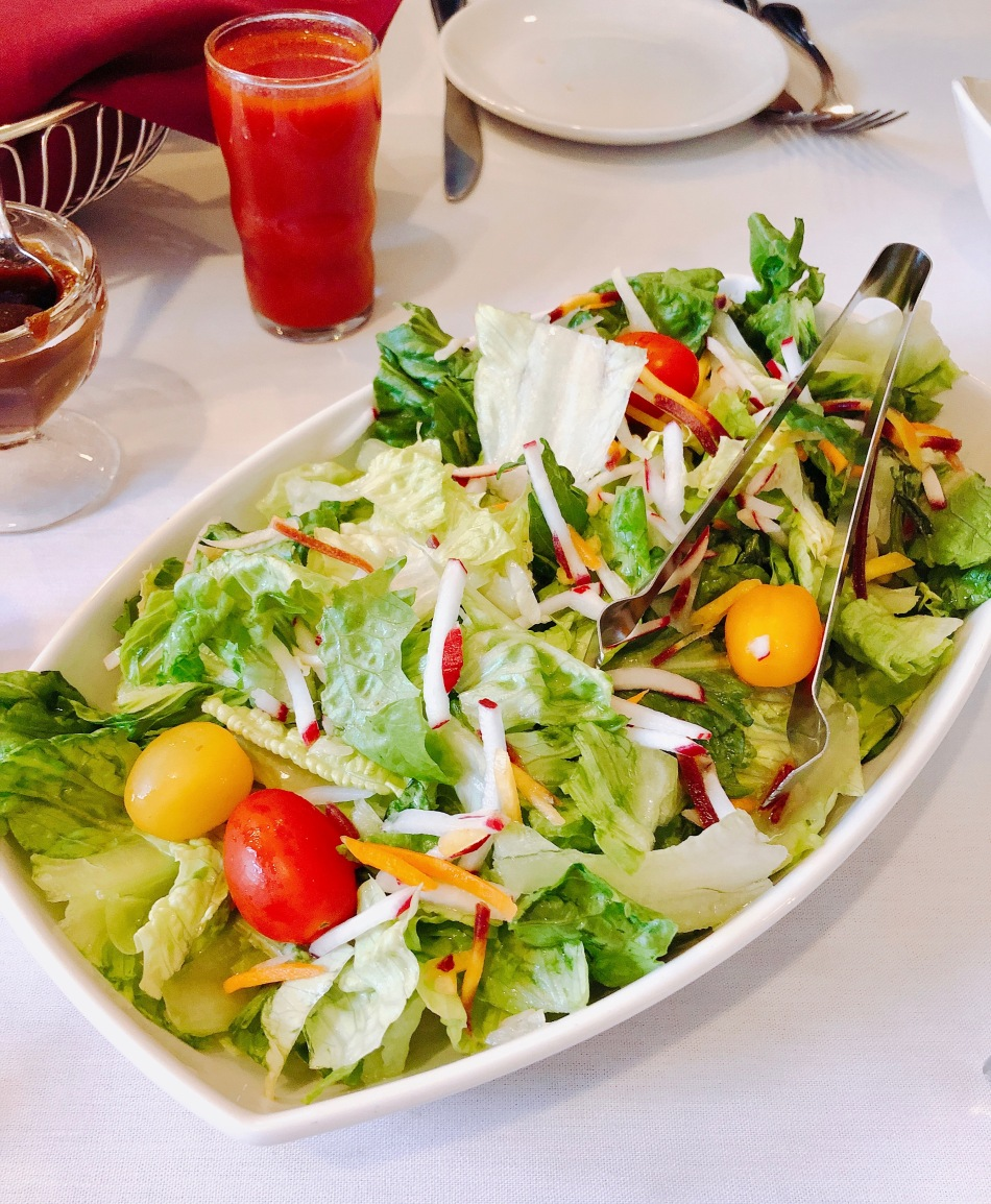 Salad, hollyhock hill, indianapolis
