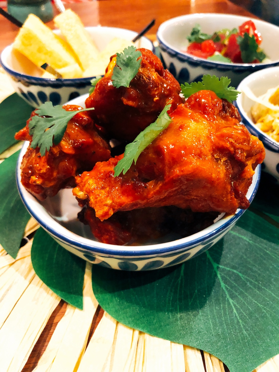 Crispy Chicken Wings, Nada, Indianapolis