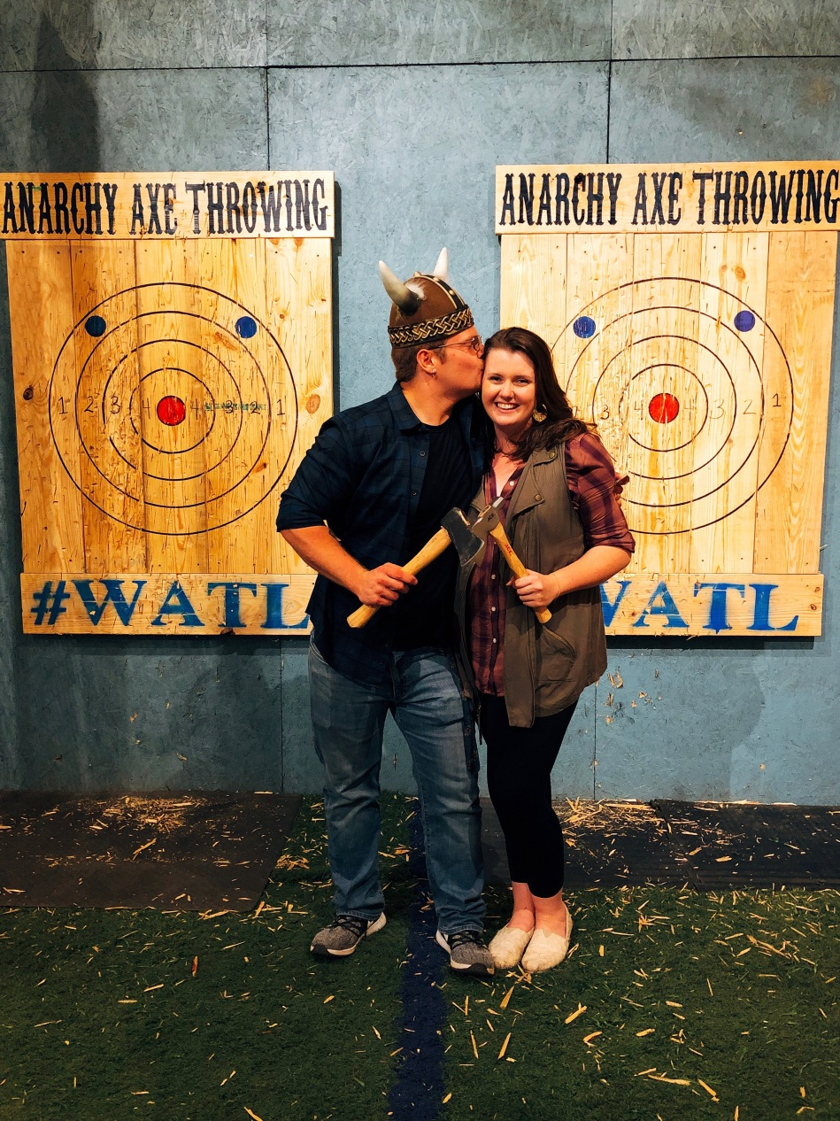Anarchy Axe Throwing, Indianapolis, IN