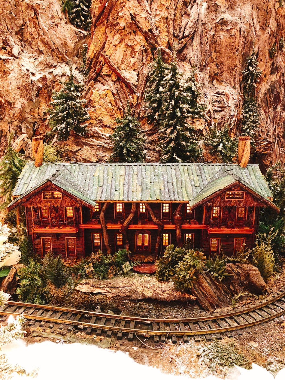 Jingle Rails at the Eiteljorg Museum